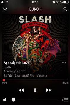 """Auf @Sonos läuft gerade """"Apocalyptic Love"""" von Slash #NowPlaying"""
