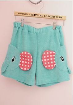 super cool Cute Sentimental Circus Elephant Shorts