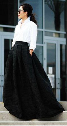 Uzun Etek Kombin Önerileri, http://mmoda.net/uzun-etek-kombin-onerileri/, #EtekKombini #EtekKombinleri #kombin #UzunEtek #UzunEtekKombini #UzunEtekKombinleri