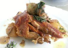 Agnello al forno: squisito in questa ricetta provenzale. Adatto ai gs 0 B AB. La carne di agnello è molto consigliata nella dieta del gruppo sanguigno.