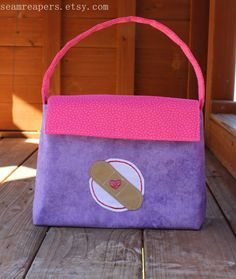 How CUTE!!!! Doc McStuffin inspired bag