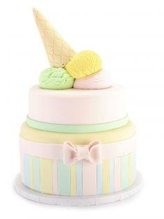 Ice Cream Birthday Cake SweetEs Bakeshop Icecreamcake Birthdaycake