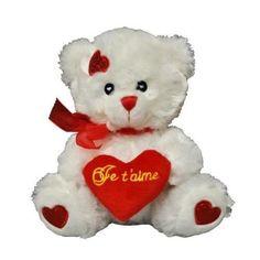 peluche ours 19 cm avec coeur peluche ours 19 cm avec coeur peluche ours