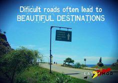dificult roads often