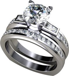 1.85Ct Round Cut Wedding Set Available in 14K, 18K and Platinum. Agape Diamonds. Lab created diamonds. Man made diamonds. Wedding. Engagement ring. Wedding ring. Bridal. Gold. Platinum. Diamond. Simulated diamond.