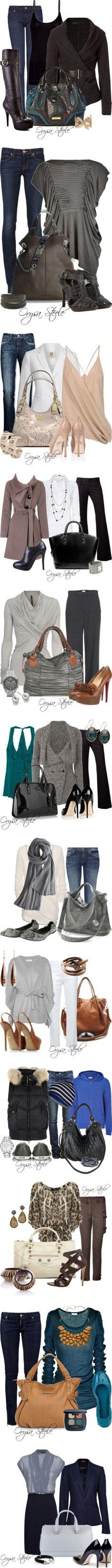 lots of fall fashion ideas!