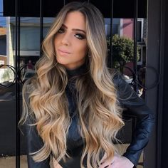 "VeSunny Double Weft Halo Hair Extensions Color #4 Dark Brown Fading to #10 Golden Brown Mixed #16 Golden Blonde No Clip Hair Extensions for Fine Hair 12"" Width #VeSunny"