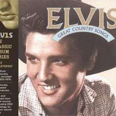 Album cover for Elvis: Great Country Songs