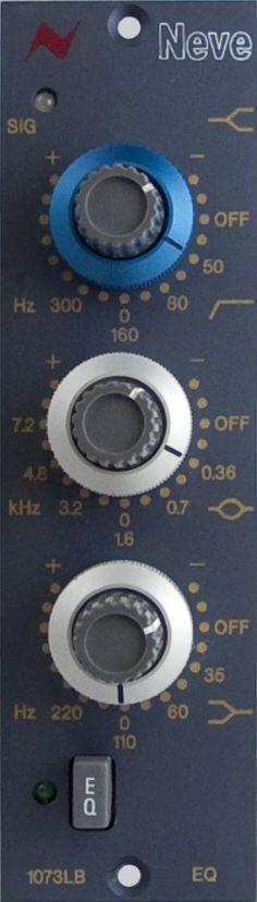 Neve 1073LBEQ. The 1073LBEQ mono EQ module retains the unique sonic characteristics of the original 1073 classic EQ. £895 (ex VAT)