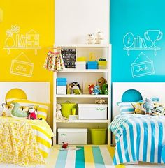 Yellow bedrooms ideas | Upgrade your kids' rooms with Circu yellow furniture and elements! Discover our magical world: CIRCU.NET