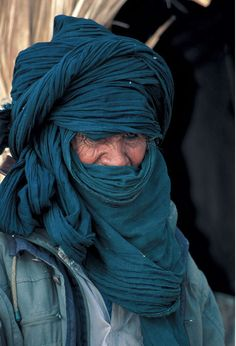 Old Tuareg man