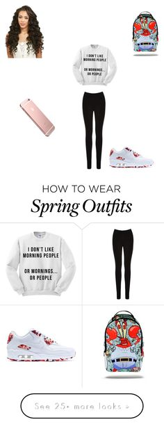"""School outfit #2"" by skyar-c on Polyvore featuring Oasis and NIKE"