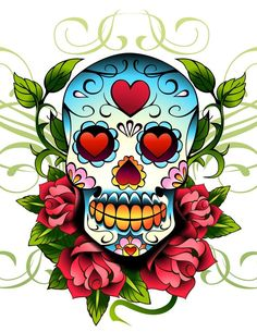 Old School Tattoos. The picture of anchor and so on are the examples of the old school tattoo design Sketch Tattoo Design, Sketch Design, Tattoo Sketches, Caveira Mexicana Tattoo, Desenhos Love, Sugar Skull Art, Sugar Skulls, Old School Tattoo Designs, Geniale Tattoos