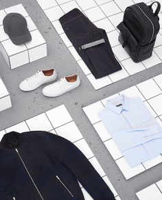 BFC & GQ London Collections Men // COMMERCIAL - Sarah Parker Creative, fashion design for men Still Photography, Flat Lay Photography, Clothing Photography, Fashion Photography, Product Photography, Fashion Still Life, Gq, Flats Outfit, Still Life Photographers