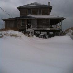 House on the beach...???