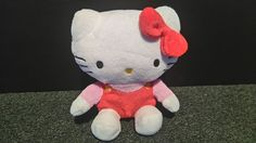 Hello Kitty Giggling  8  soft Cuddly Toy - Laughs and giggles - super soft plush