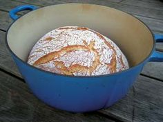 Learn how to bake bread that's deliciously moist and chewy inside, but still has the beautiful outer crust of rustic, peasant loaves. The no knead, Dutch oven bread technique and recipe is easy even for beginners. Includes recipe, ingredients list, instructions, step-by-step photos and a video demonstration of the technique.