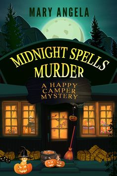 Spirit Canyon's annual Spirit Spooktacular weekend is on, and for local amateur sleuth Zo Jones, it's boomtime for business at her Happy Camper gift shop . . . until a murderer drops in for a browse. To celebrate Halloween at the Happy Camper, Zo schedules a talk by successful author and self-proclaimed witch Marianne Morgan. Although Marianne's benign brand of witchcraft is more about feminine empowerment than black magic, her presence is still not welcomed by everyone. Gifts For Campers, Happy Campers, Kensington Books, Mystery Series, Cozy Mysteries, Spirit Halloween, Spelling, Mary, Free Apps