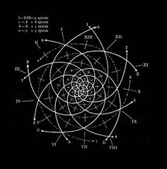 Creationofworlds: via chaosophia218: Fibonacci Series.The Fibonacci series covers the simplest golden section sequence which can be expressed in whole-numbers (the golden section of 89 being 55, and that of 55 being 34, etc.): 2, 3, 5, 8, 13, 21, 34, 55, 89 …In it each number equals the sum of the two preceding numbers (that is, 2+3 =5, 3+5=8, 5+8=13, etc.).The sequence approaches nearer and nearer the proportion of the geometrical golden section i.e. the irrational key-number of the…