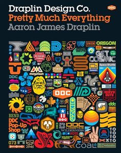 Booktopia has Draplin Design Co., Pretty Much Everything by Aaron James Draplin. Buy a discounted Hardcover of Draplin Design Co. online from Australia's leading online bookstore. Draplin Design, Graphic Design Magazine, Graphic Design Books, Graphic Designers, Graphic Art, New Books, Good Books, Career Survey, Buch Design