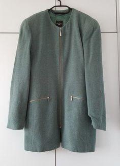 Kup mój przedmiot na #vintedpl http://www.vinted.pl/damska-odziez/marynarki-zakiety-blezery/15940702-nietypowa-marynarka-plaszczyk-vintage-welna-kolor-morski-marc-aurel