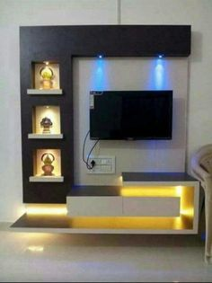 Best lcd panel design gallery – interior design Best Picture For TV unit white For Your Taste You are looking for something, and it is going to tell you exactly. Lcd Wall Design, Lcd Unit Design, House Ceiling Design, Ceiling Design Living Room, Bedroom False Ceiling Design, Design Design, Design Ideas, Living Room Partition Design, Living Room Tv Unit Designs