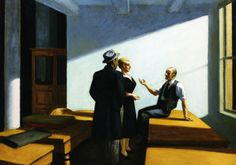 Conference At Night, 1949 Edward Hopper