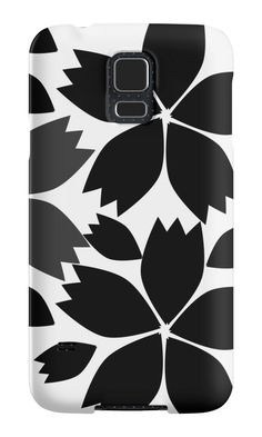 Dark floral #melancholy by cocodes #SamsungGalaxy case #redbubble: http://www.redbubble.com/people/cocodes/works/21730162-dark-floral-melancholy?p=samsung-galaxy-case