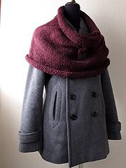 "Ravelry: ""Fig"" Big Cowl by Karen Borrel - free pattern"