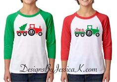 Boys Monogram Christmas Truck Design Available In Youth Sizes. Holiday Boys Shirt Design. Monogram In Truck Wheel. Tow Truck Holiday Shirt. by DesignsByJessicaK on Etsy