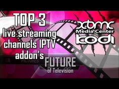 Top 3 KODI XBMC Live Streaming Addons in one repo easy install and watch
