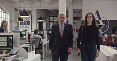 #TheIntern Movie Trailer with Robert De Niro and Anne Hathaway!  Read more at: http://moviejunkienews.com/posts/comedy/the-intern-movie-trailer-with-robert-de-niro-and-anne-hathaway