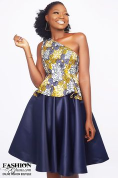 Ghana's fast rising fashion brand just released a capsule collection titled 'OPULENCE' and the look book is just fabulous. (like for instant fb updates) Mawube couture is known for pro Short Ankara Dresses, Best African Dresses, Latest African Fashion Dresses, African Print Dresses, African Print Fashion, Xhosa Attire, African Attire, Fit And Flare Skirt, Nigerian Independence