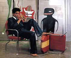 Jean-Michel Basquiat. Courtesy of Sotheby's.