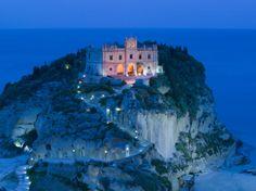 Santa Maria dell'Isola Church, Tropea, Calabria, Italy Photographic Print