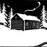 Beth White cut paper illustration