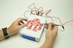 "A DIY version of the classic game ""Operation,"" starring Makey."