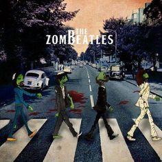 The ZomBeatles zombie beatles abbey road    tumblr m3zktpcImT1roc56lo1 500