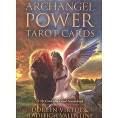 Archangel Power Tarot Cards - Doreen Virtue and Radleigh Valentine - The Crystal Den - TrafficAttic Tarot Card Decks, Tarot Cards, Doreen Virtue Cards, Aleister Crowley, Angels Among Us, Angel Cards, World Religions, Oracle Cards, Salvador Dali