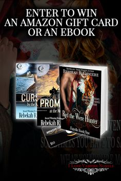 Win eBooks or a $10 Amazon Gift Card from Bestselling Author Rebekah R. Ganiere http://www.ilovevampirenovels.com/giveaways/win-ebooks-10-amazon-gift-card-bestselling-author-rebekah-r-ganiere/?lucky=401001