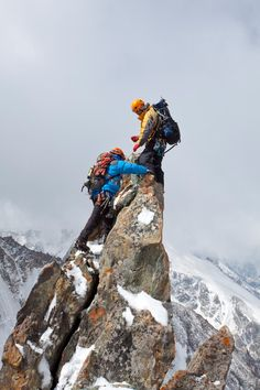 That incredible feeling of getting to the top - this is why we do it!