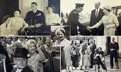 Photos capture the Queen Mother on a trip to Scotland in the 1950s
