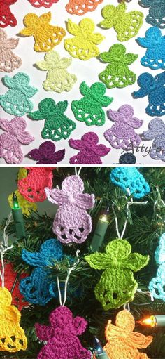 Crochet Gift Patterns Crochet Christmas Angels Free Pattern - Scrambling for last-minute Christmas gifts? Here are 10 Fast and Easy Christmas Crochet Free Patterns to save money. Crochet Christmas Decorations, Crochet Ornaments, Crochet Snowflakes, Free Christmas Crochet Patterns, Crochet Ornament Patterns, Crochet Christmas Gifts, Crochet Bookmarks, Applique Patterns, Crochet Angel Pattern
