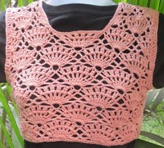 Sweet Nothings Crochet: SHELLED YOKE