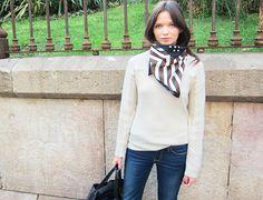 idag- use of scarf