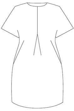 tulip-drawing TULIP DRESS – Free sewing pattern LC010