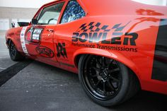 """forgeline: """" Billy Utley's Nova (known as """"Nancy""""), built by B&B Classics Inc., on Forgeline wheels, in the Optima Ultimate Street Car Invitational display, at the 2014 SEMA Show. See more. Racing Baby, As Nancy, Racing Wheel, Love Car, Drag Cars, Cool Cars, Chevrolet, Classic Cars, Automobile"""