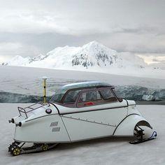 Snow car!
