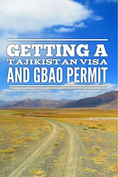 Dreaming of exploring the incredible Pamir Highway in Tajikistan? You will need a visa and GBAO permit, which is now available online. Check out article for a list of FAQs on the application process.