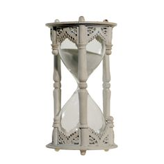"Melissa Hourglass Decor. 6.25"" H x 3.25"" W x 3.25"" D. 31. (nice design, but only runs 10 minutes which begs the name ""hourglass."")"